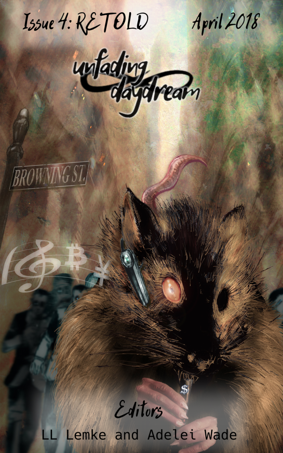Book Cover: Unfading Daydream: Issue 4 Retold